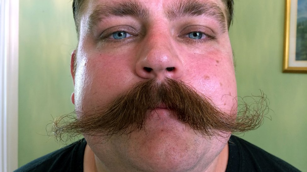 how to take off a mustache