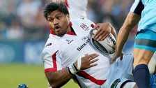 Nick Williams scored Ulster's opening try at Kingspan Stadium