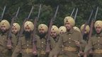 Sikhs in WW1 uniform