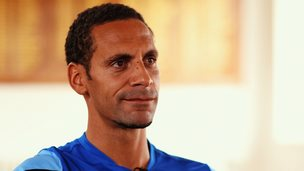 Rio Ferdinand talks about his 'emotional' Old Trafford return