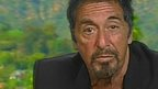 Al Pacino on The Andrew Marr Show