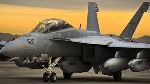 A USAF F18 jet 23 Jan 2014