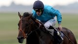 Winning jockey Richard Kingscote earned his first classic win