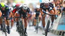 Marcel Kittel outsprints Mark Cavendish to win the final stage of the Tour of Britain