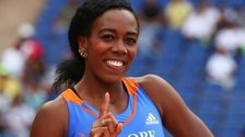 British 100m hurdler Tiffany Porter