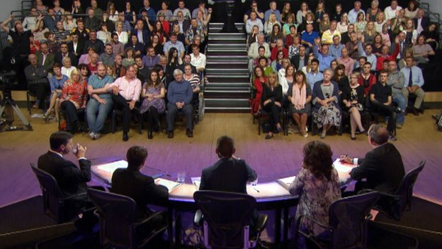 Audience at Referendum Debate in Stirling