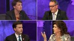 Ruth Davidson, Stewart Hosie, Douglas Alexander and Elaine C Smith