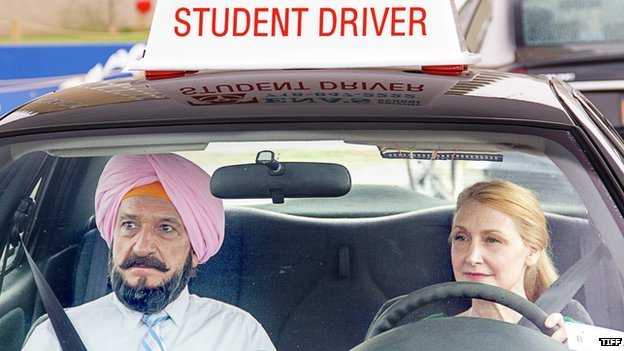 Still from film Learning to Drive