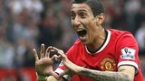 Manchester United forward Angel Di Maria