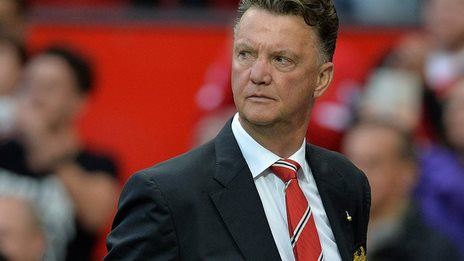 Man Utd manager Louis van Gaal