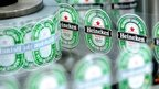 Heineken labels