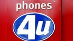 Phones 4U  store in London