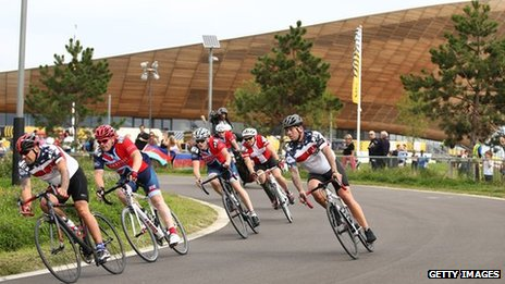 Road cycling at the Games