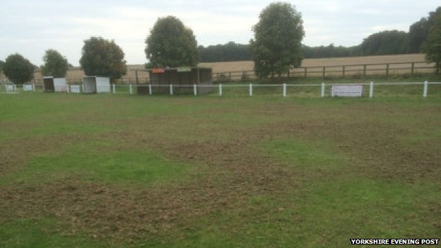 Aberford Albion ground