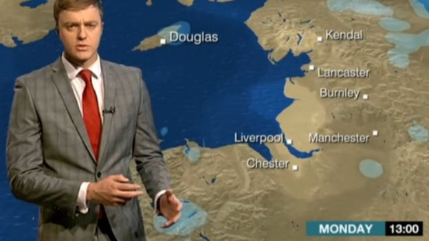 Charlie Slater's weather report