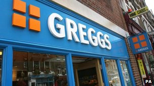 A Greggs the baker shop front