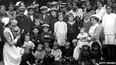 Belgian refugees in London