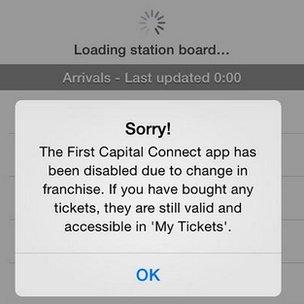 Station board app