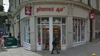 Phones 4U in Newport city centre