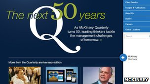 Mckinsey website