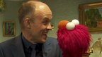 Colin Paterson and Elmo