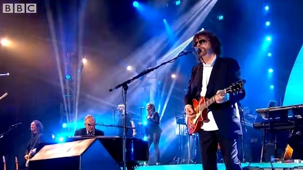 Jeff Lynne's ELO perform at BBC Radio 2 Hyde Park concert