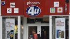 phones 4 U shopfront