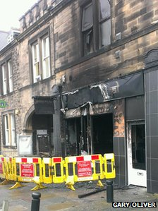 Blaze-hit New Bengal, Gosforth High Street