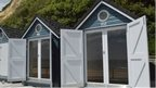 Alum Chine beach huts