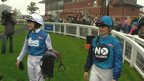 'Yes and No' jockeys at Musselburgh racecourse