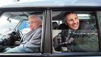 Ian Paisley Snr and Jnr pictured  in 2010