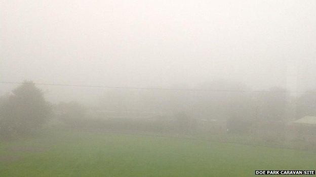 Fog in Teesdale