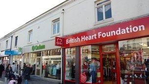 Charity shops