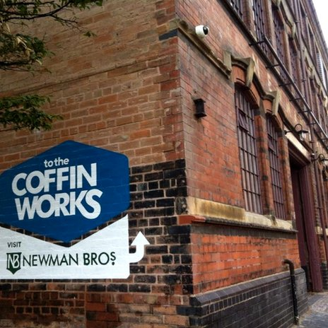 Coffin Works in Birmingham