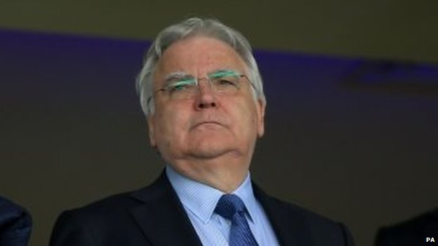 Everton's chairman Bill Kenwright