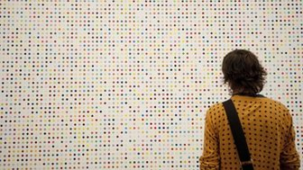 Damien Hirst's dots