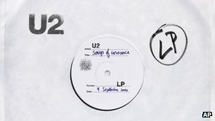 CD cover of Songs of Innocence by U2