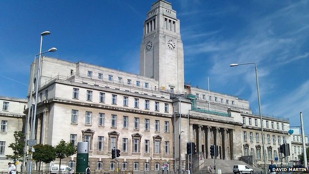 Parkinson Building at Leeds Uni