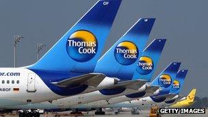 Thomas Cook planes, Munich