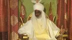 Muhammad Sanusi II, emir of Kano in northern Nigeria