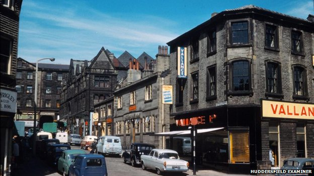 Huddersfield town centre in 1960s