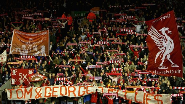 Liverpool FC crowd