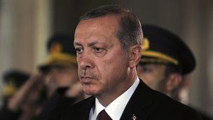 File photo: Turkey's President Recep Tayyip Erdogan at the Cankaya Palace in Ankara, Turkey, 28 August 2014