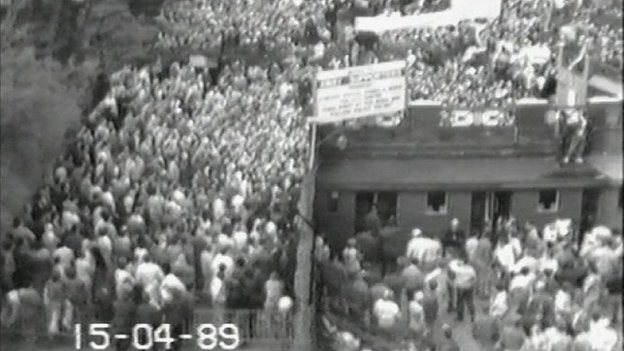 CCTV at Hillsborough
