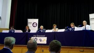 The Any Questions panel