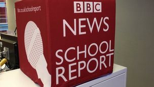 BBC School Report cube