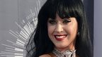 Katy Perry arrives at the MTV Video Music Awards at The Forum
