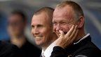 Rangers striker Kenny Miller and Inverness manager John Hughes