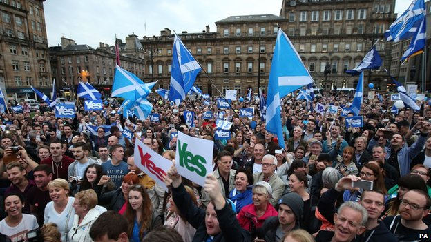 Yes in George Square