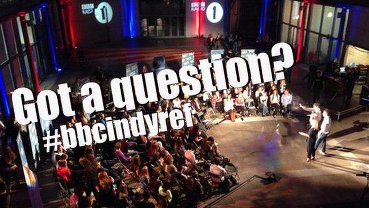 Radio 1 Independence referendum